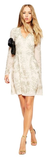 Preload https://img-static.tradesy.com/item/13454836/asos-cream-embellished-mid-length-cocktail-dress-size-4-s-0-1-650-650.jpg