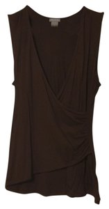 Ann Taylor Day To Night Layering Soft Top Brown