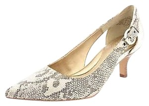 Circa Joan & David Snakeskin print Pumps