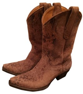 Old Gringo Western Boot Leopard Brown Boots