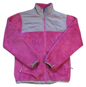 The North Face Pink and Grey Jacket