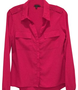 Sanctuary Clothing Top Bright pink
