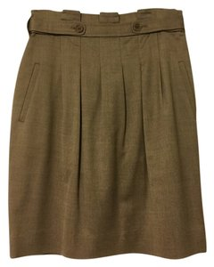 BCBGMAXAZRIA Business Casual. Day To Night Skirt Taupe