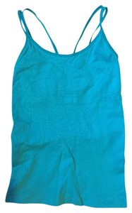 Champion Seamless Blue Active Tank With Built-in Shelf Bra