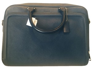 Coach Navy Messenger Bag