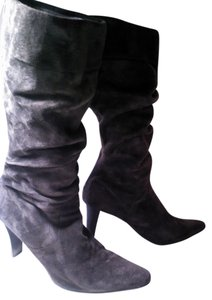 Bandolino Suede Slouch Sexy Brown Boots