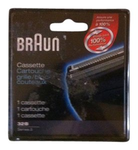 Braun Braun BRAND NEW IN BOX Cassette Electric Razor Blade 32 B- Series 3- Retail $22.99