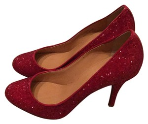 J.Crew Ruby glitter Pumps