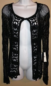 BCBGMAXAZRIA Max Azria Crochet M Medium Bcbg Sweater Cardigan