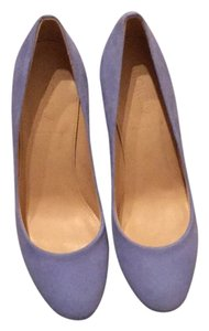 J.Crew Deep Peri (light blue tone) Pumps