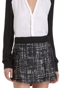 A.L.C. Mini Skirt black white