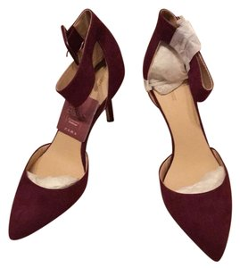 Zara Bordeaux Pumps