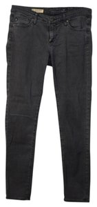 AG Adriano Goldschmied Anthropologie Skinny Jeans-Distressed
