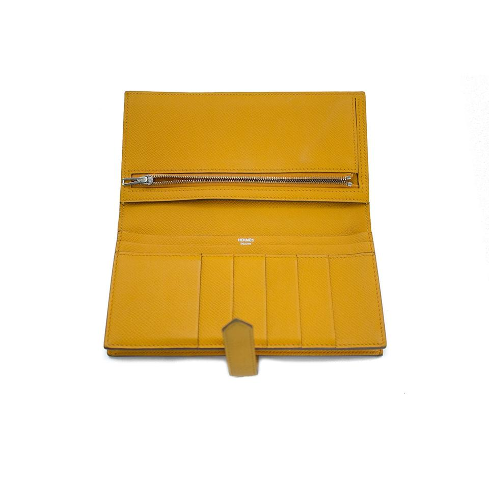hermes kelly wallet yellow - photo #6