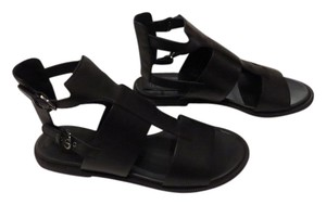 Jil Sander Sophisticated Design From The Navy Line Black Sandals