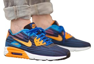 Nike Airmax Lunarlon Yeezy Game Royal / Copper Athletic