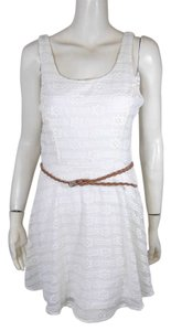 3 hearts Lace Belted Dress