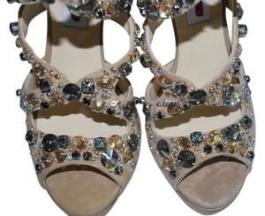 Jimmy Choo Zafira brown Sandals