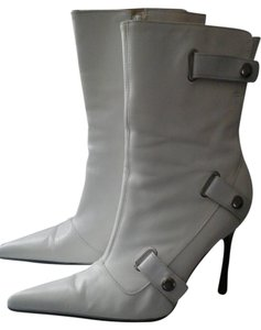 Aldo Leather Bootie White Size 6 Winter Boots