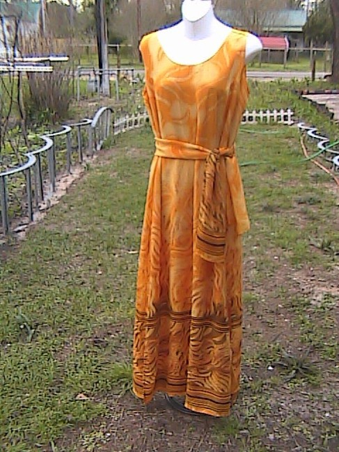 Yellow Maxi Dress by Gabrille Summer Image 1