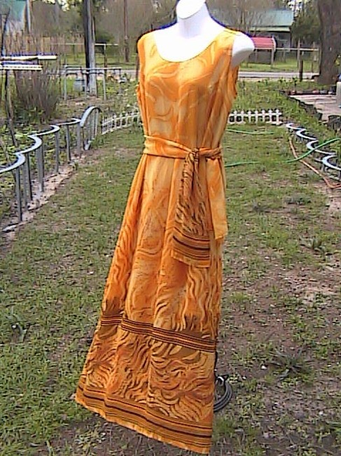 Yellow Maxi Dress by Gabrille Summer Image 4