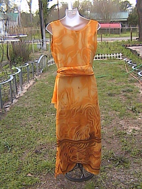 Yellow Maxi Dress by Gabrille Summer Image 5