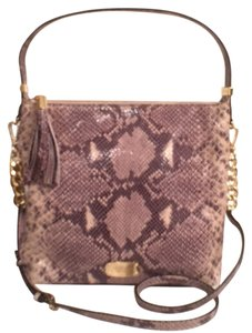 Michael Kors Leather Python Snake Print New/nwt Cross Body Bag