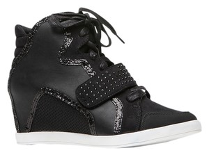 Bamboo Wedge Sneakers Sneakers Glitter Athletic