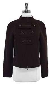 Escada Brown Ribbed Jacket