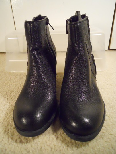 Nine West Leather Studded Ankle black Boots Image 5