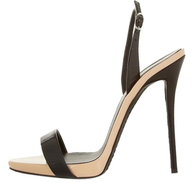 Item - Nude and Black Coline Formal Shoes Size US 6.5 Narrow (Aa, N)