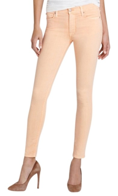 Item - Apricot Light Wash Nico Mid Rise In Skinny Jeans Size 26 (2, XS)