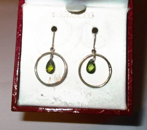 Gold Bogo Free 14k Peridot Free Shipping Earrings