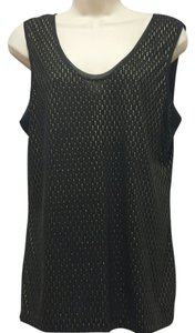 Banana Republic Top black w/gold