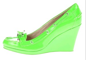 Sperry Green Wedges