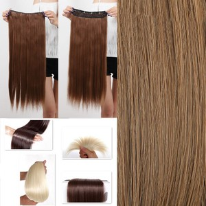 Sandy Blonde Full Head Clip In Hair Extension Free Shipping