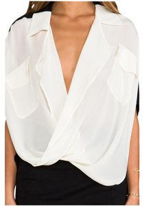 Funktional Silk Top white/black