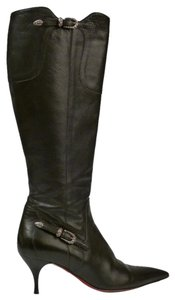 Cesare Paciotti Made In Italy Knee-high Black Boots