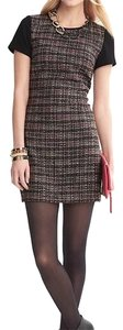 Banana Republic short dress Black, Gray, Pink, Red, Silver, White on Tradesy