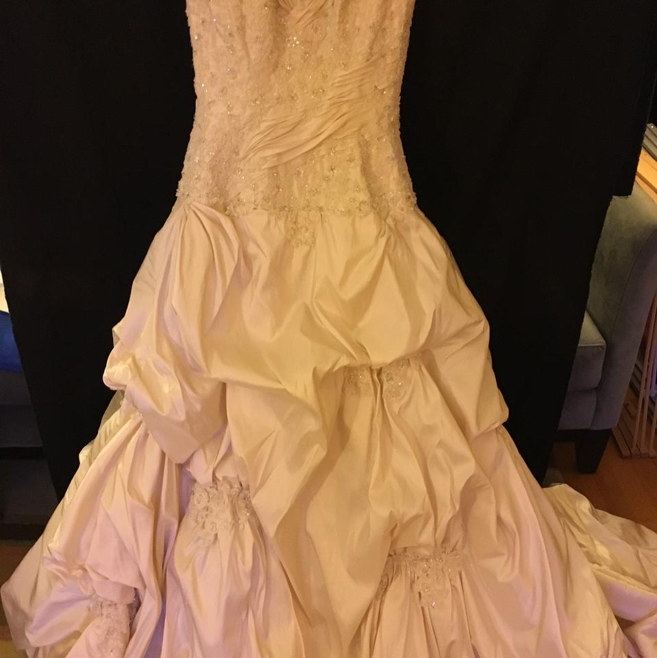 Maggie Sottero Light Gold Taffeta - \