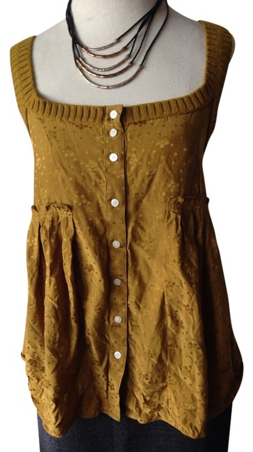 Preload https://item3.tradesy.com/images/marc-jacobs-mustard-yellow-tank-topcami-size-6-s-1346612-0-0.jpg?width=400&height=650