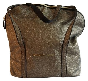 Victoria's Secret Tote in Gold and black