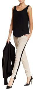 Willow & Clay Jogger Side Pockets Viscose Relaxed Pants TAUPE
