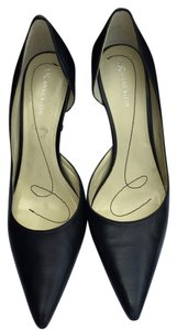 Anne Klein Pump Black Leather Pumps