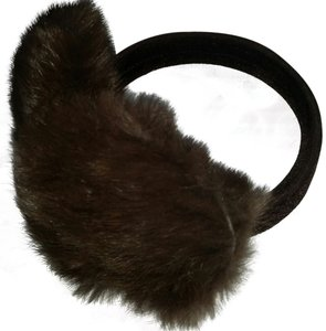 Mink Fur Genuine Fur Earmuffs