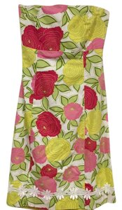 Molly B short dress White, Red, Pink, Yellow, Green on Tradesy