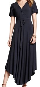 Navy Maxi Dress by Banana Republic
