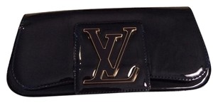 Louis Vuitton Designer Purse Navy Blue Clutch