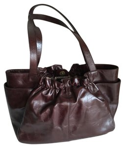 Hobo International Leather Compartments Vintage Shoulder Bag