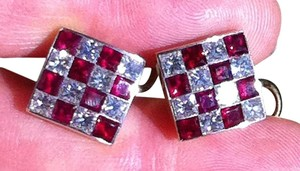 Tiffany & Co. Epic & RARE Vintage Tiffany & Co. Ruby and Diamond Earrings!